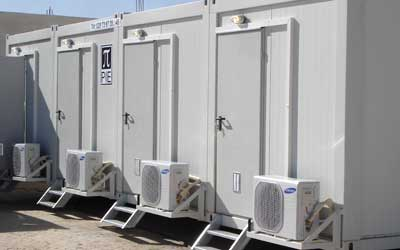 Flexible internal designs makes our containers a perfect solution for toilets