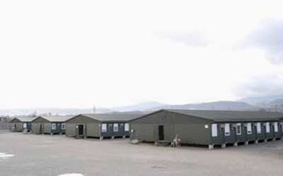 Trimo containers has been a preferred solution for military camps worldwide for many years in moderate climates